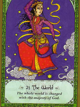 Free Oracle Card Reading - Rumi Tarot