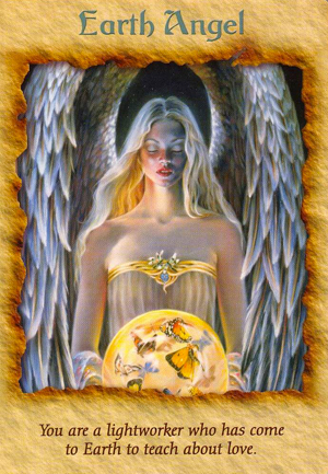 Daily Angel Card Reading: Earth Angel | Angel Therapy ...