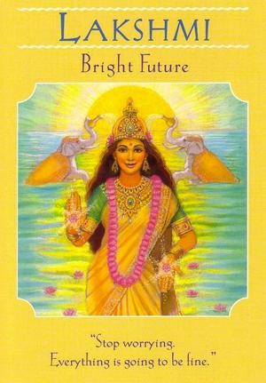 Lakshmi - Goddess Guidance Oracle Cards