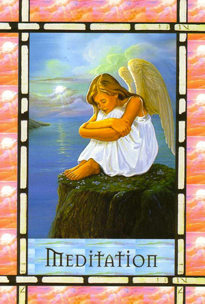 Daily Angel Card Reading: Meditation | Healing with the ...