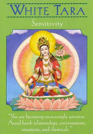White Tara: Goddess Guidance Oracle Cards