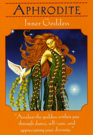 Card Meaning : Awaken the goddess within you through dance, self-care