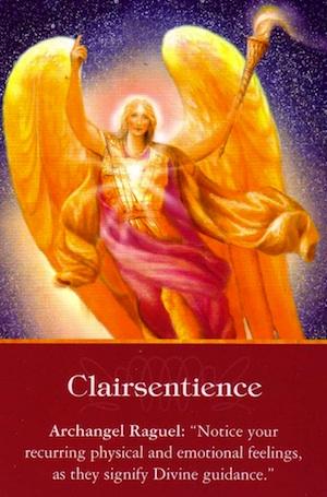 Archangel-Raguel-Clairsentience