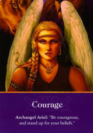 Archangel-Ariel-Courage
