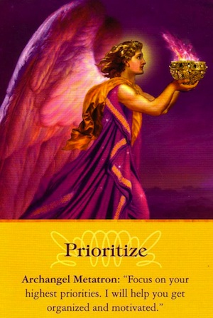 Archangel-Metatron-Prioritize