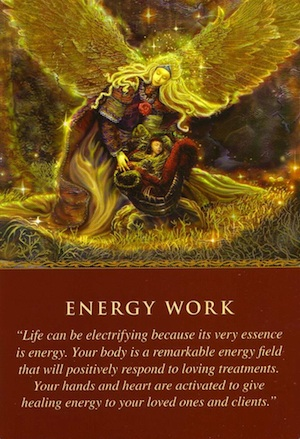 Daily Guidance From Your Angels Energy Work