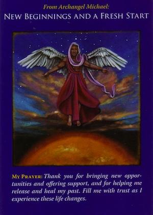 archangel michael new beginnings