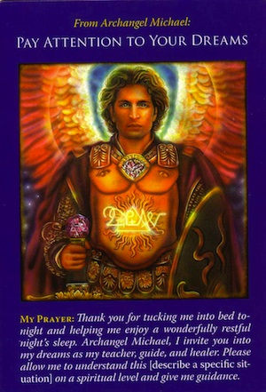 Archangel Michael: Pay-Attention-to-Dreams