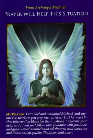 Archangel Michael Cards: Prayer