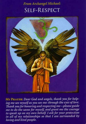 Archangel Michael Oracle Cards | Self-Respect