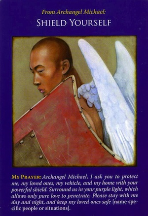 Archangel Michael Oracle Cards: Shield Yourself