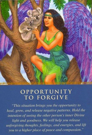 angel cards: opportunity-to-forgive