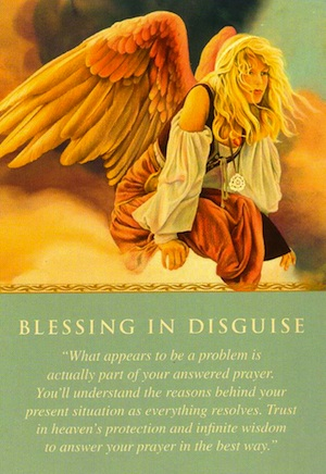 Daily Guidance From Your Angels Blessing In Disguise Free Angel