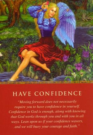 angel card: have-confidence