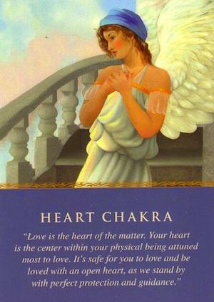 angel card: heart-chakra