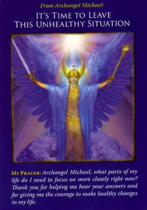 how to ask archangel michael for help