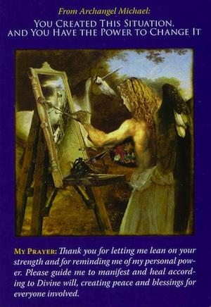 aarchangel-michael-oracle-card