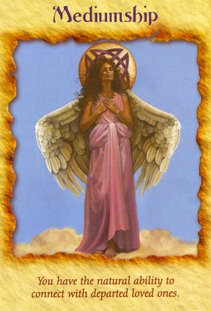 Mediumship Angel Card